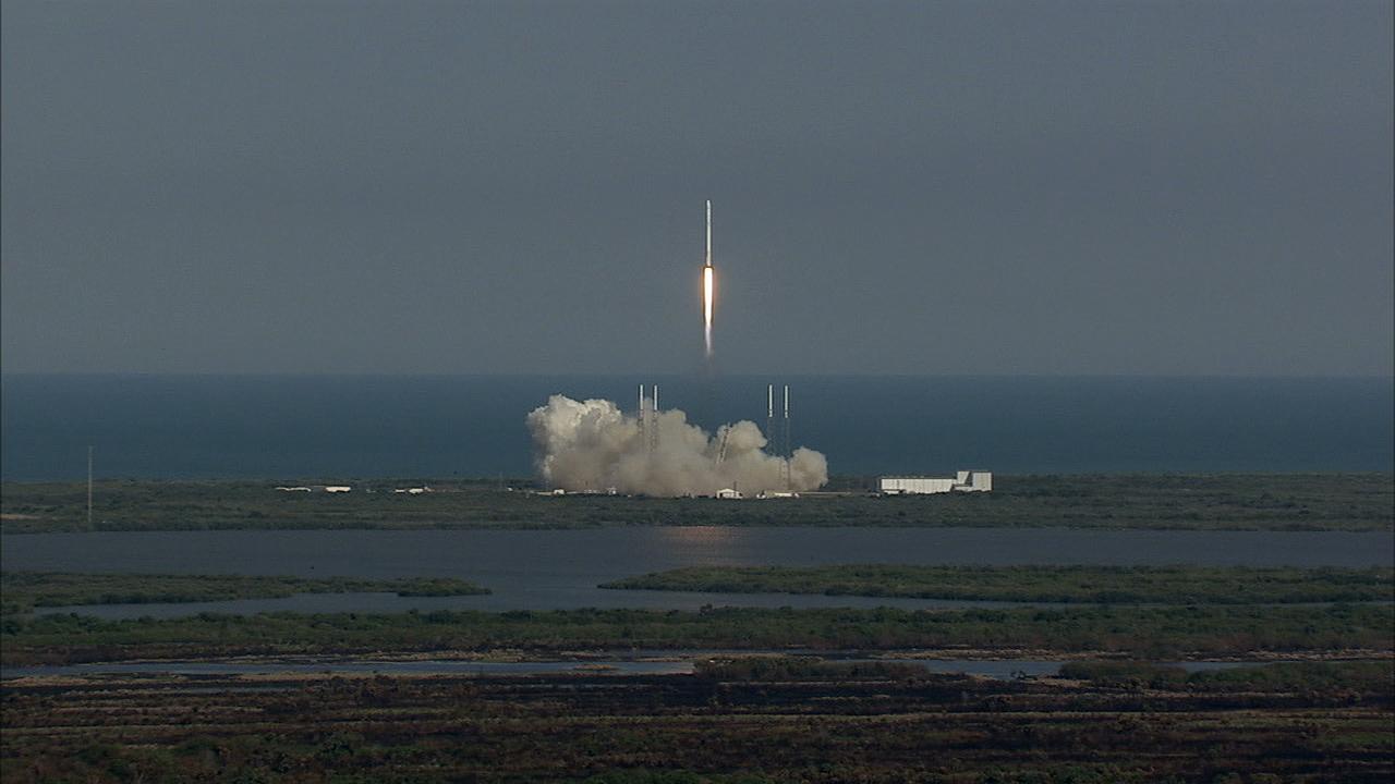 SpaceX blog header